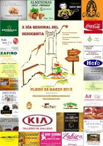 Cartel Día Regional del Senderista 2015